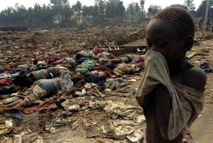 Rwanda received an apology for genocide.