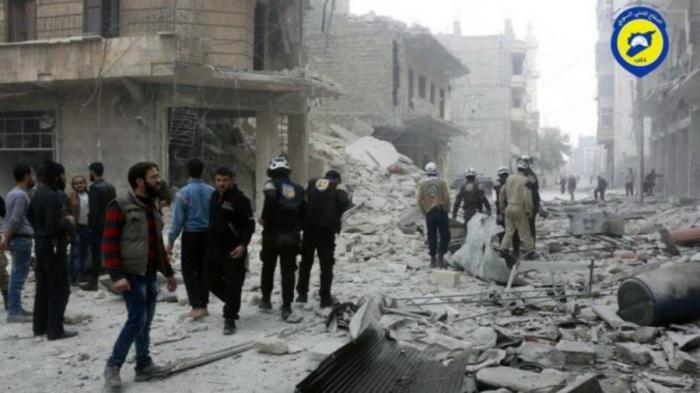 Aleppo struggles to handle airstrikes.