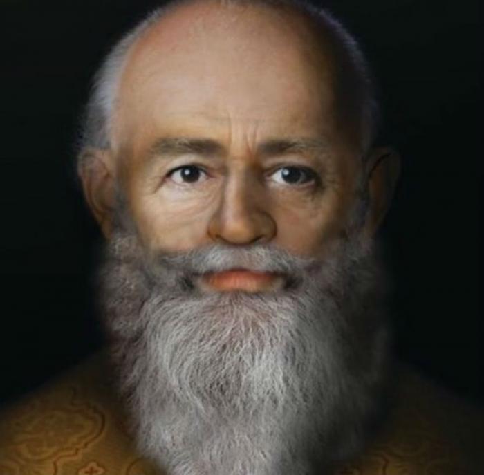 The true face of St. Nicholas.
