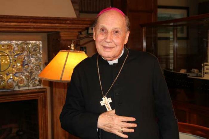 Bishop Javier Echevarría Rodríguez, Prelate of Opus Dei, who died Dec. 12, 2016