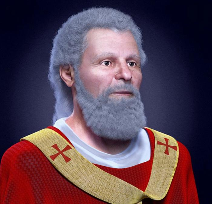 3D mapping revealed what St. Valentine really looked like.