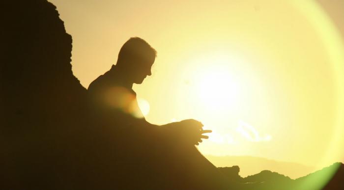 Reflecting in the sun