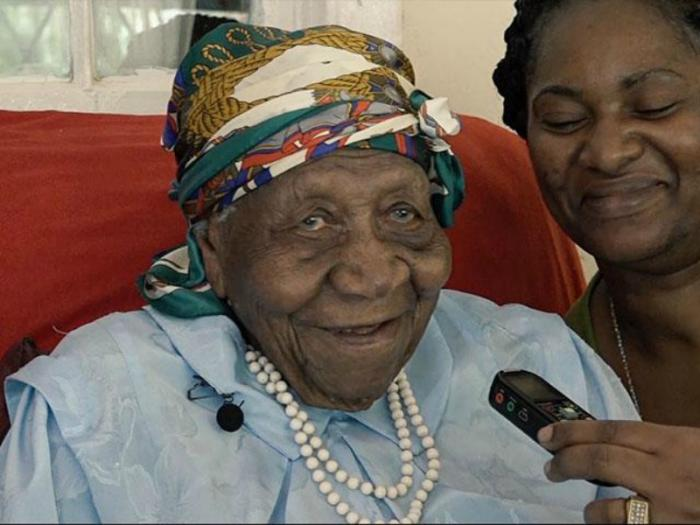 Violet Mosse-Brown, the oldest woman alive, credits God for her longevity.