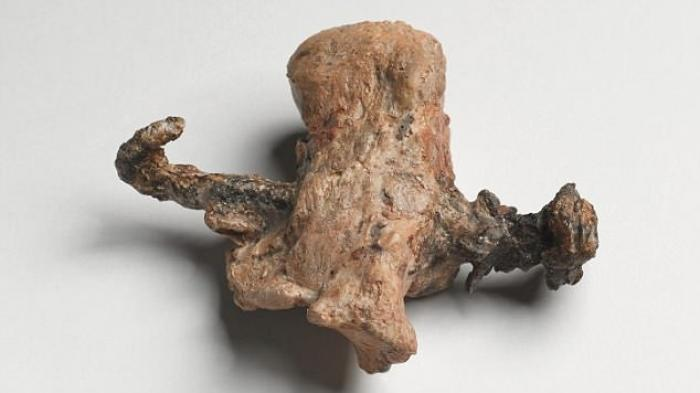 This example of a foot with a nail driven through the heel was discovered in Jerusalem in 1968. A second, similar example has now been found in Italy.