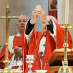 Bishop Alan celebrates Mass for Front-line workers.