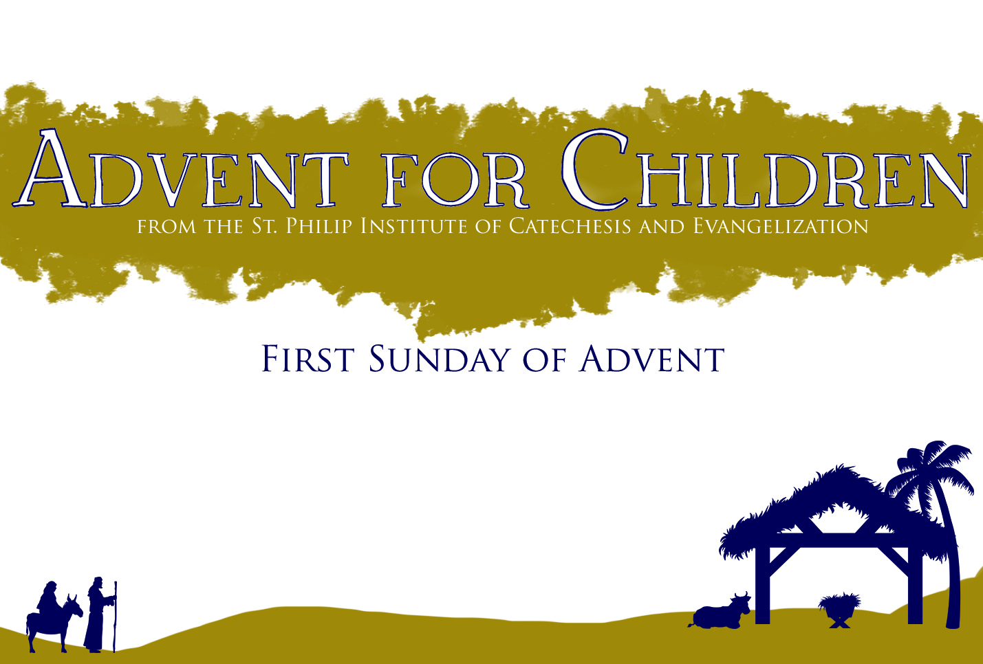 Advent for Children: First Week
