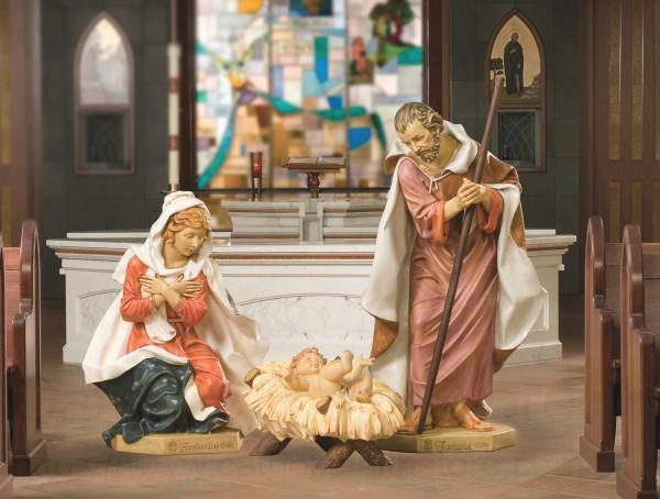 Church Nativity Set 50 Holy Family