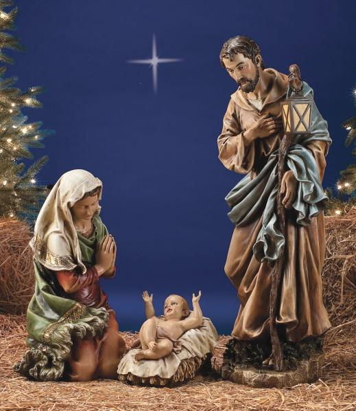 Holy Family Nativity Figures 39 Scale