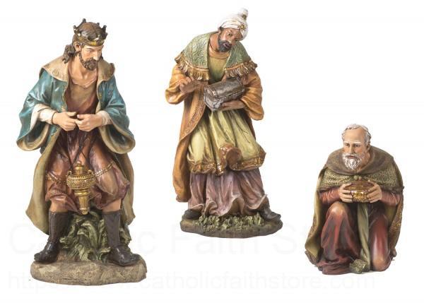 Three Kings Statue Set 39 H From Catholic Faith Store