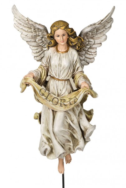 Gloria Angel On Stand 30 H For 27 Scale Nativity Set