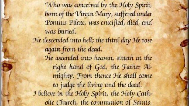 Catholic Creed: Why Do We Need a Creed?