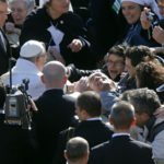 Pope meets with man considering suicide