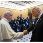 Pope and Trump discuss peace, dialogue, support for immigrants