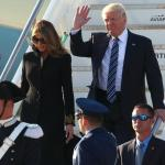 Trump arrives in Rome for meeting with Pope Francis