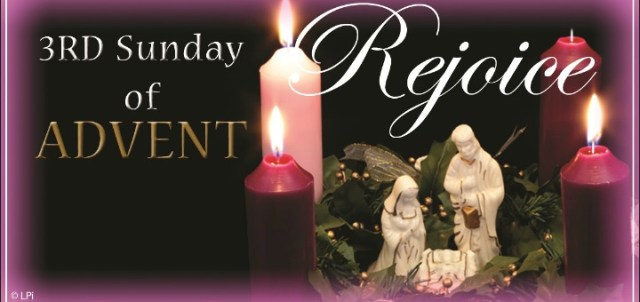 homily for the 3rd sunday of advent year b 6 catholic. Black Bedroom Furniture Sets. Home Design Ideas