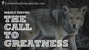 Manly Virtue: The Call to Greatness