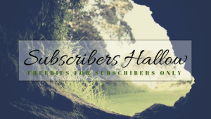 Subscribers Hallow: subscribers only page