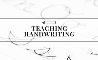 Teaching D'Nealian or Modern Handwriting