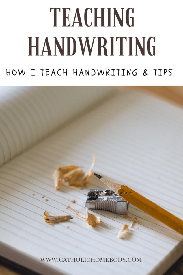 Teachinghandwriting