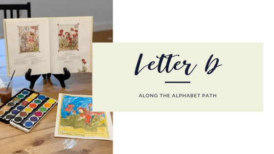 letter d of the along the alphabet path