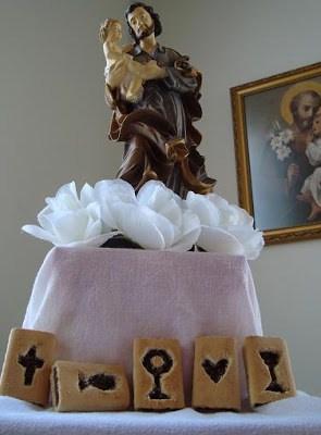 St Josephs Altar Ideas