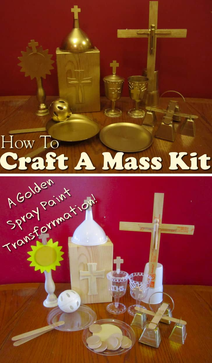 how to craft a catholic mass kit for kids