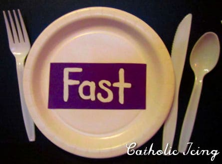 Image result for Catholic fast
