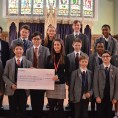 St-Eds-College-Noahs-Ark-Cheque-presentation