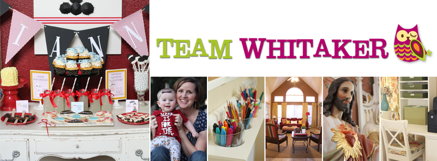 Featured Blogger: Kathryn at Team Whitaker