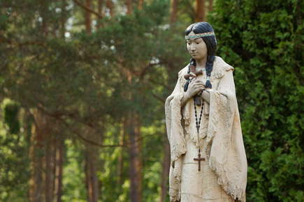 Feast Day: St. Kateri Tekakwitha July 14