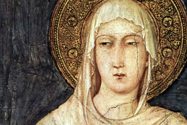 August 11 St. Clare of Assisi