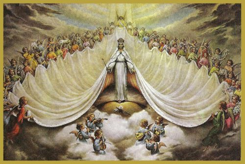 August 22  Queenship of Mary