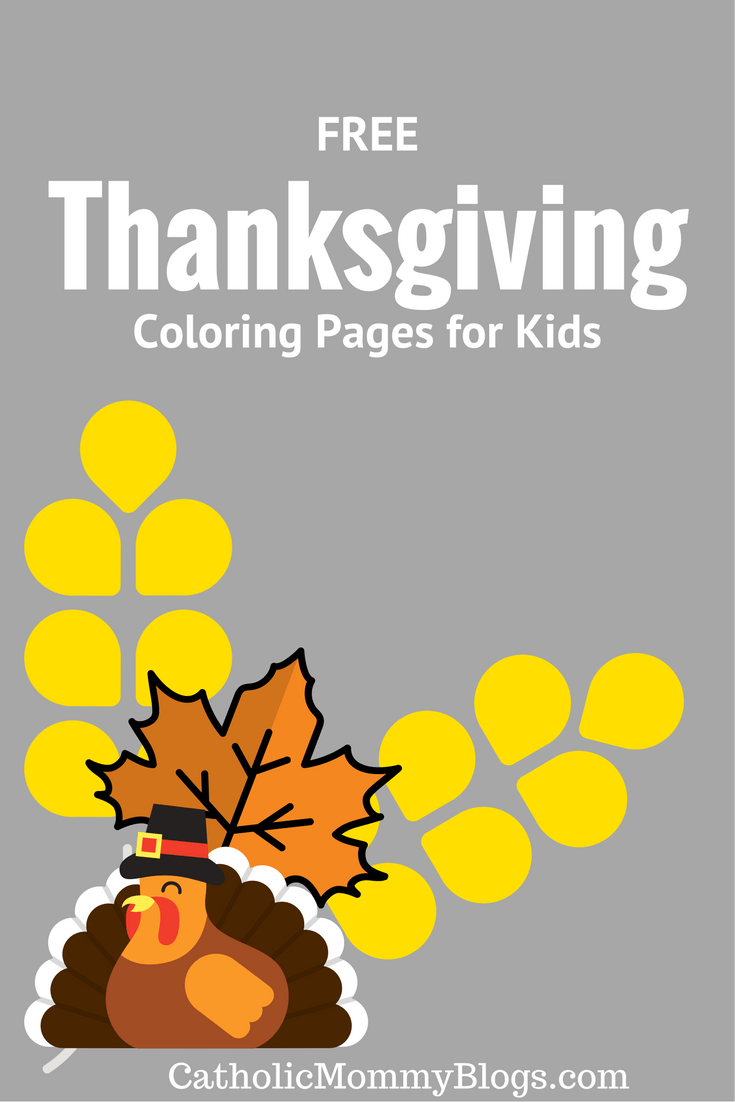 Thanksgiving Coloring Pages & Printables