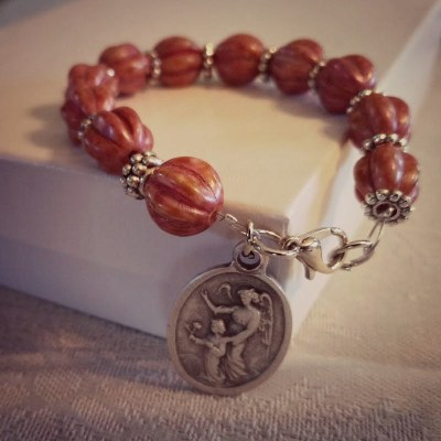 Rose Rosary Car