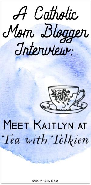 Tea with Tolkein Blogger Interview