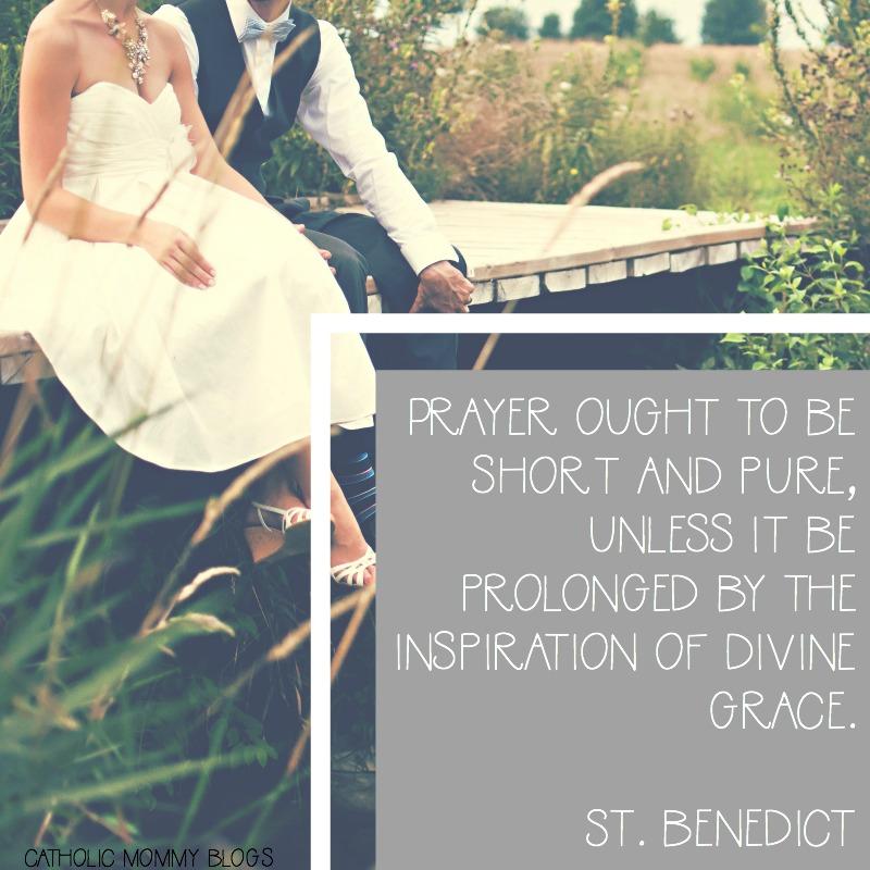 St. Benedict Reflection