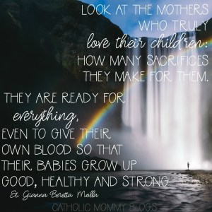 inspirational catholic saint quotes on motherhood