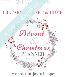 FREE Advent Resources to prepare your family for Christmas!