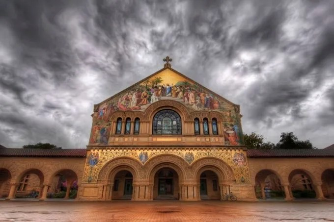 Stanford Church in Storm. Credit: Trey Ratcliff via Flickr (CC BY-NC-SA 2.0).