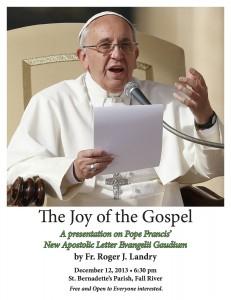 Evangelii Gaudium Poster copy