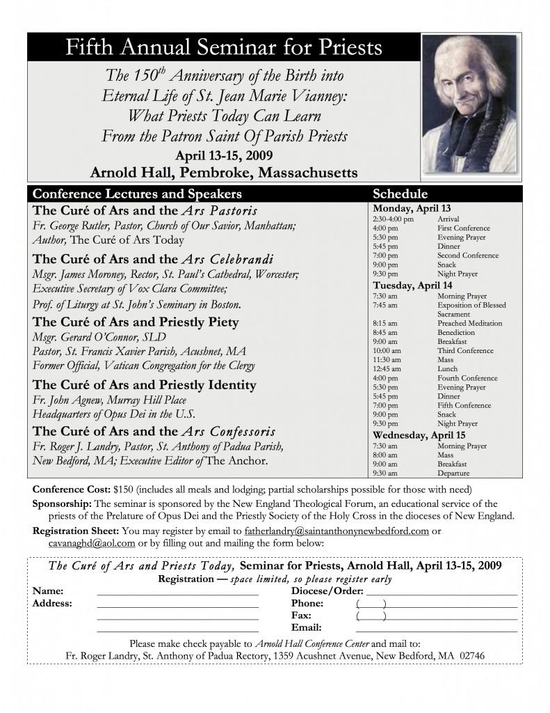 2009 Seminar Poster