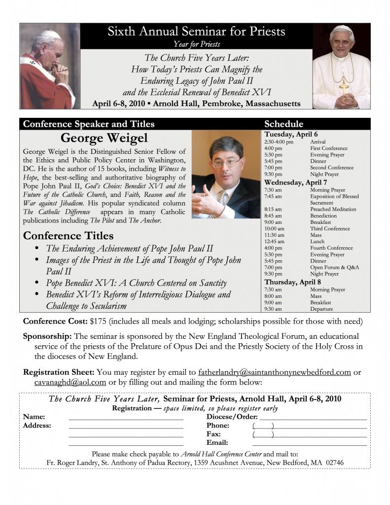 2010 Seminar Poster
