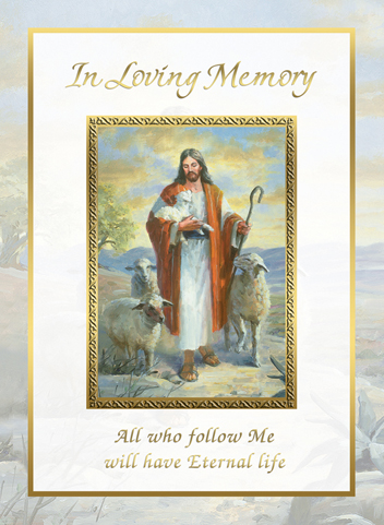 Deceased Mass Card In Loving Memory 50box MPNME251 Mass
