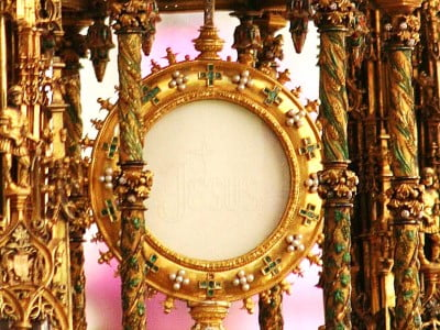 "SOLEMNITY OF CORPUS CHRISTI PRAYER: ""MAY WE ALL BE LIVING MONSTRANCES."""
