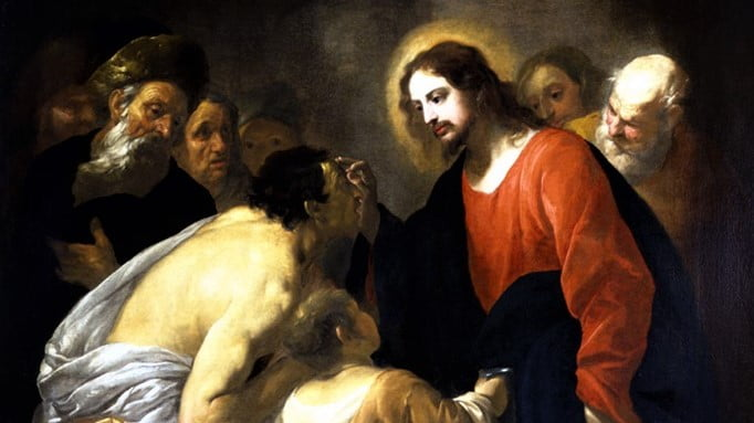DAILY GOSPEL AND COMMENTARY: JESUS CURES A BLIND MAN AT BETHSAIDA.