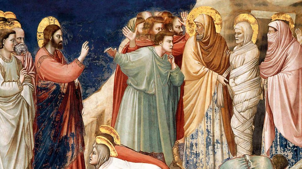 POPE FRANCIS AND POPE BENEDICT XVI ON THE RESURRECTION OF LAZARUS.