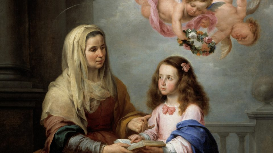 PRAYER TO ST. ANNE FOR FERTILITY