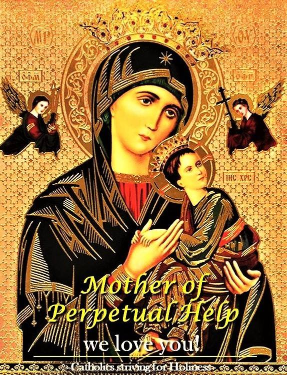 PRAYER TO OUR MOTHER OF PERPETUAL HELP 4