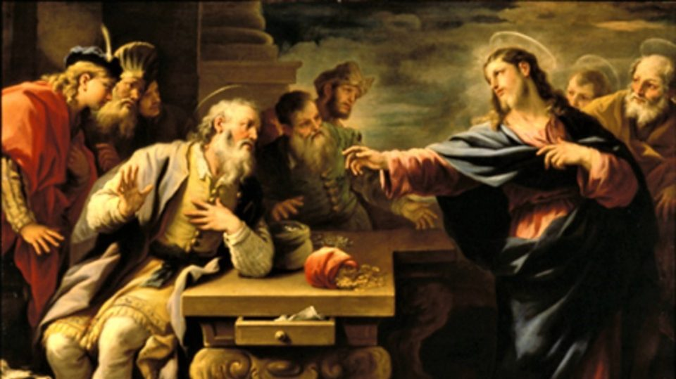 POPE BENEDICT XVI ON ST. MATTHEW, THE APOSTLE AND EVANGELIST (Sept. 21)