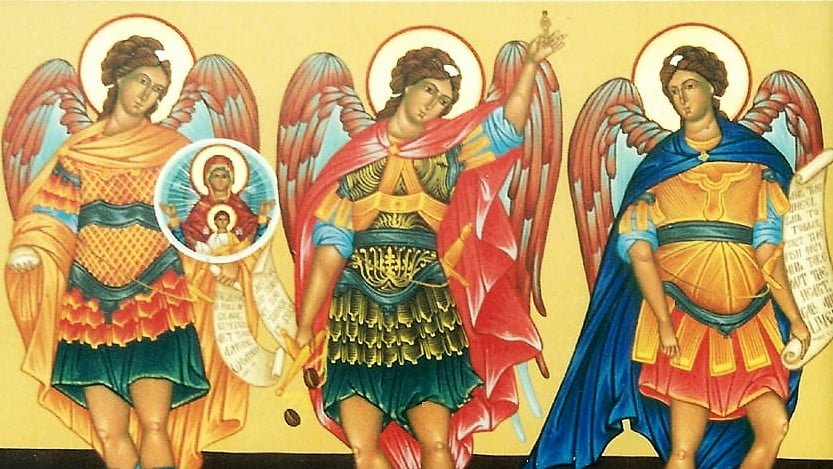 SEPT. 29 FEAST OF THE ARCHANGELS SAINTS MICHAEL, GABRIEL AND RAPHAEL MASS, GOSPEL AND COMMENTARIES (Jn 1:47-51).